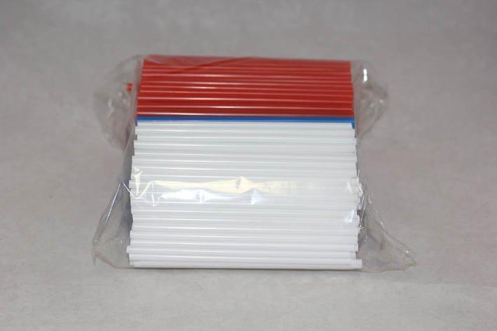 """Трубочки д/коктейля прямые d=5мм L=125мм, разноцветные """"Мартини"""", 400 шт, фото 2"""