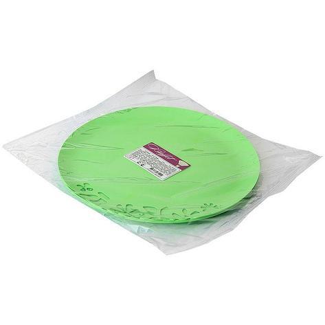 Блюдо с ажурным краем, салатовое, 273 мм, 3 шт, фото 2