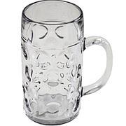 Бокал для пива, объем 0.5л, прозрачный, стиролакрилонитрил, 6 шт