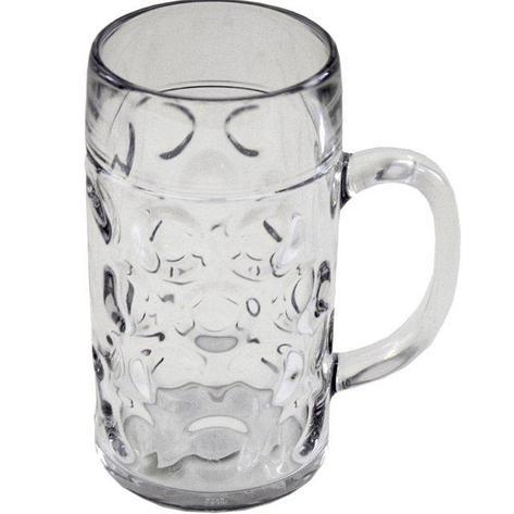 Бокал для пива, объем 0.5л, прозрачный, стиролакрилонитрил, 6 шт, фото 2