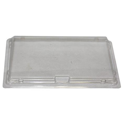 Крышка контейнера ДЛЯ СУШИ 183x128х32мм, прозрачная, ПЭТ,  СП-18К (витрина), 420 шт, фото 2