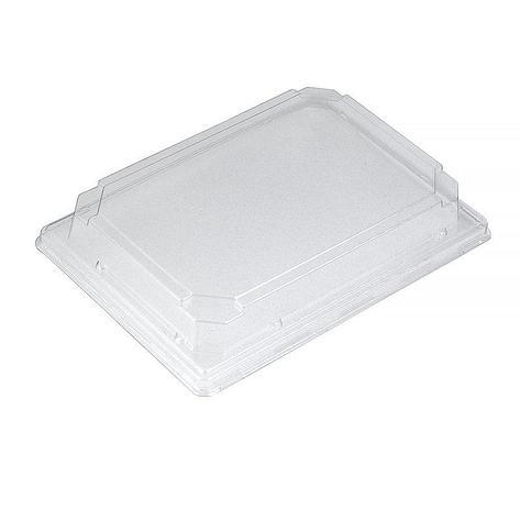 Крышка контейнера ДЛЯ СУШИ 183x134х32мм, прозрачная, ПЭТ,  СП-19К, 420 шт, фото 2