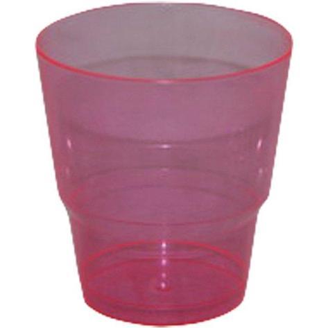 Стакан для холодного, объем 0.20л, Кристалл, красный, 6 шт, фото 2