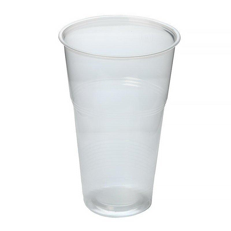 Стакан для холодных напитков, 0.5л, полупрозрачный, 50 штук, 1000 шт