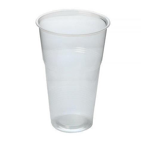 Стакан для холодных напитков, 0.5л, полупрозрачный, 50 штук, 1000 шт, фото 2