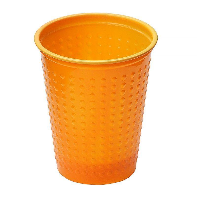 Стакан д/хол./гор., 0.2л, бразильский апельсин, BiColor, ПС, 6 шт