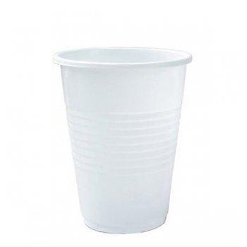Стакан для холодных, горячих напитков, объем 0,20л, белый, 6 штук, 6 шт