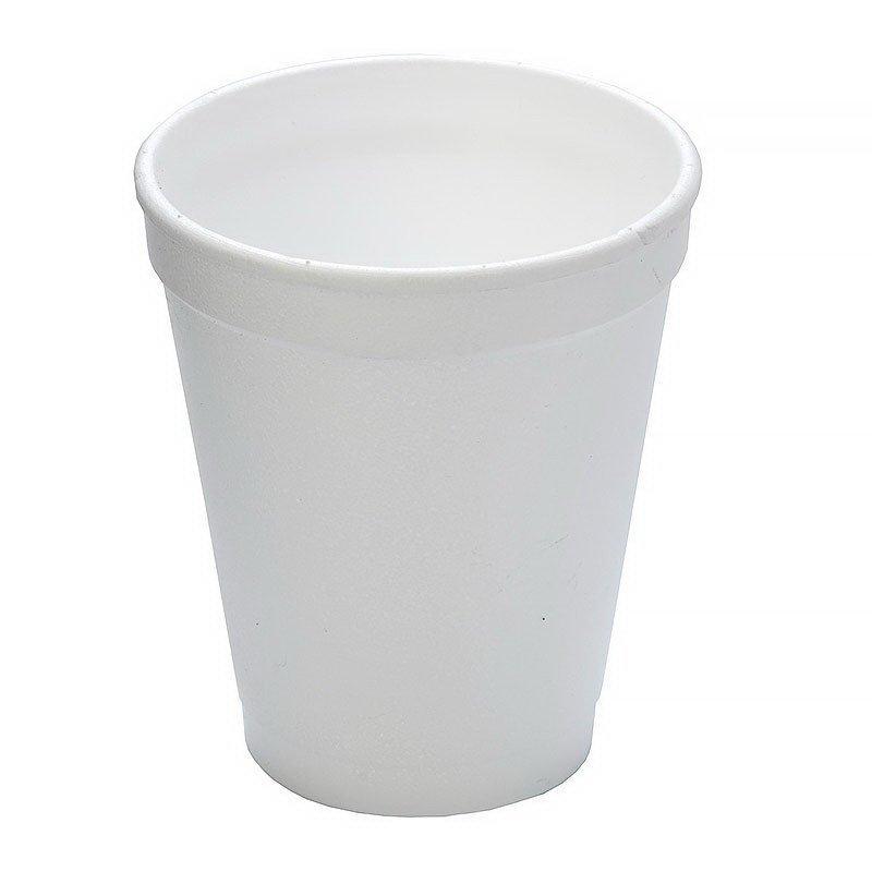 Стакан для холодного/горячего/мороженого, 0.20л, белый, 975 шт