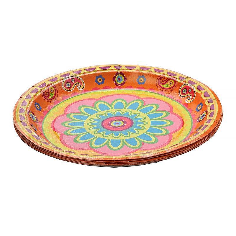 Тарелка d=180 мм дизайн Пикник коллекция, 10 шт
