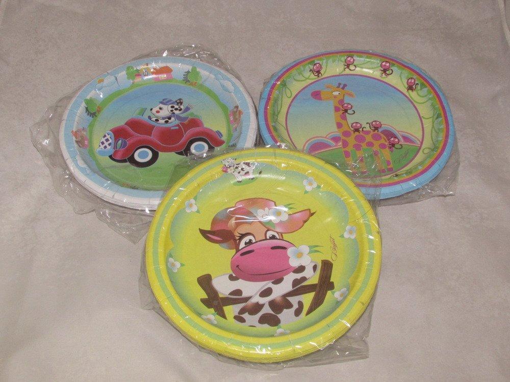Тарелка d=230 мм дизайн Детская коллекция, 10 шт