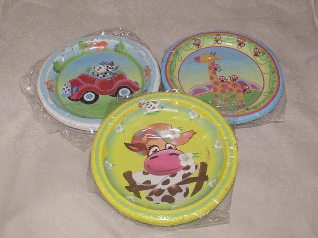 Тарелка d=230 мм дизайн Детская коллекция, 10 шт, фото 2