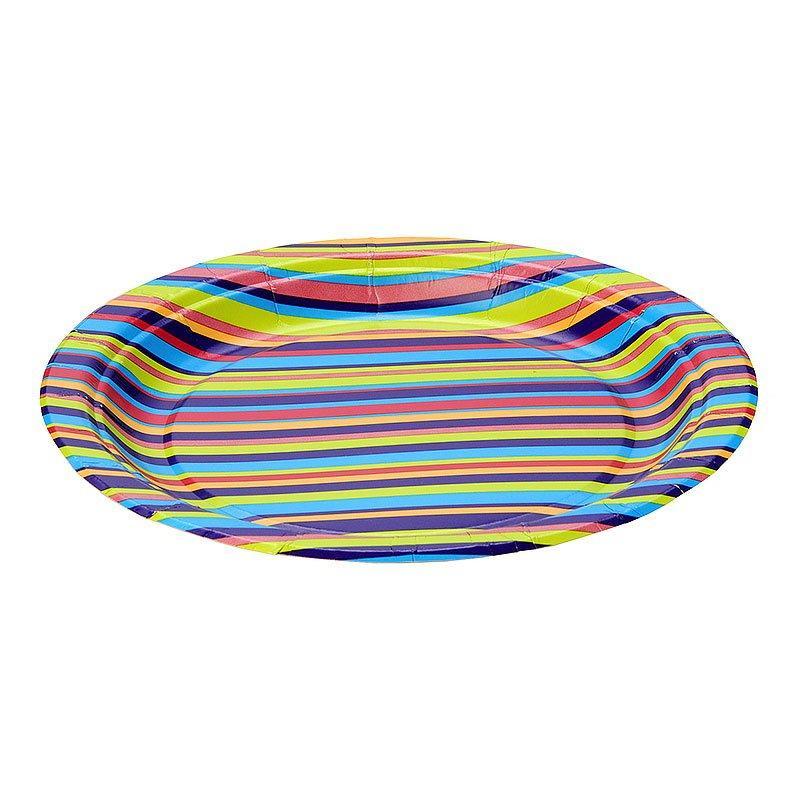 """Тарелка d 230мм, дизайн, """"Джайв"""", бумага, 6 шт"""