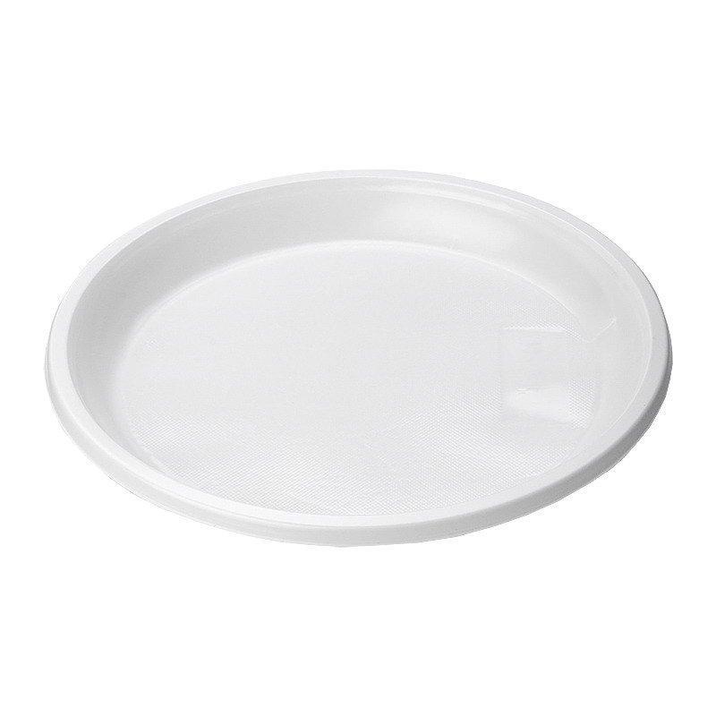 Тарелка десертная d=170 мм белая, 12 шт