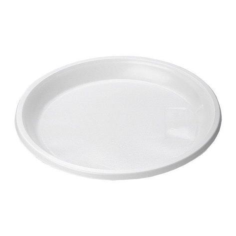 Тарелка десертная d=170 мм белая, 12 шт, фото 2