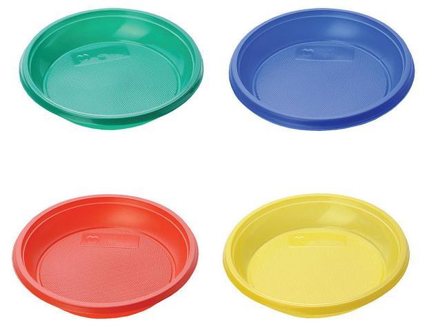 Тарелка десертная, d 170мм, цвета в ассортименте, 12 шт, фото 2