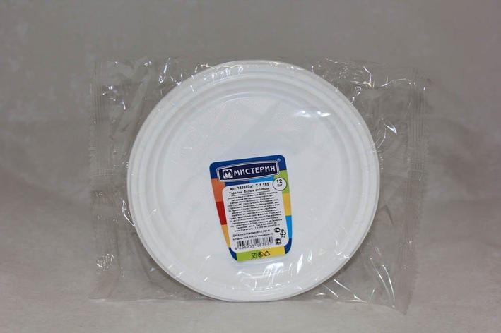 Тарелка десертн., d 165мм, бел., ПС, 12 шт, фото 2