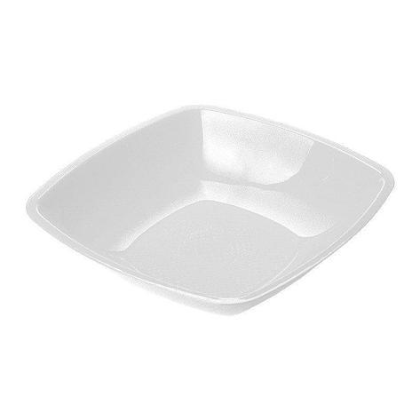 Тарелка квадратная глубокая, белая, 180мм , 6 шт, фото 2