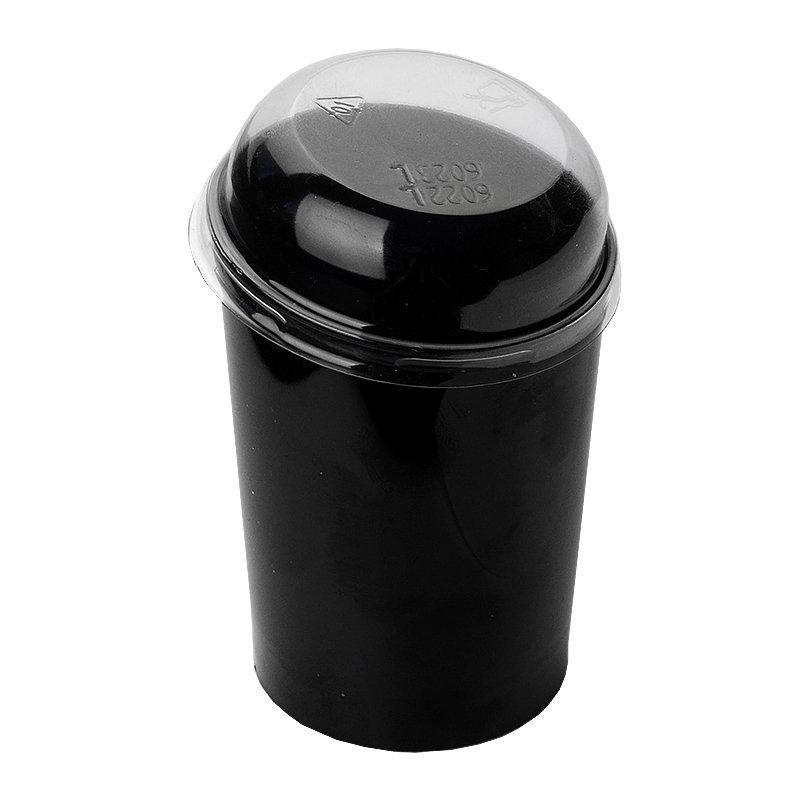 Форма д/фуршетов, 100мл, d 55,, Maxi Conical, чёрн., ПС, 10 шт