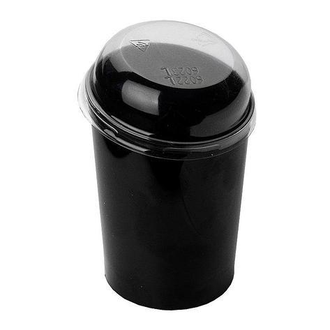 Форма д/фуршетов, 100мл, d 55,, Maxi Conical, чёрн., ПС, 10 шт, фото 2
