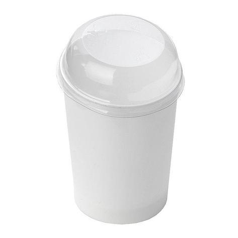 Форма д/фуршетов, 100мл, d 55мм,, Maxi Conical, бел., ПС, 10 шт, фото 2