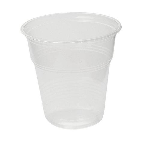 Стакан для холодных напитков, объем 0,10л, полупрозрачный, 12 штук, 12 шт, фото 2