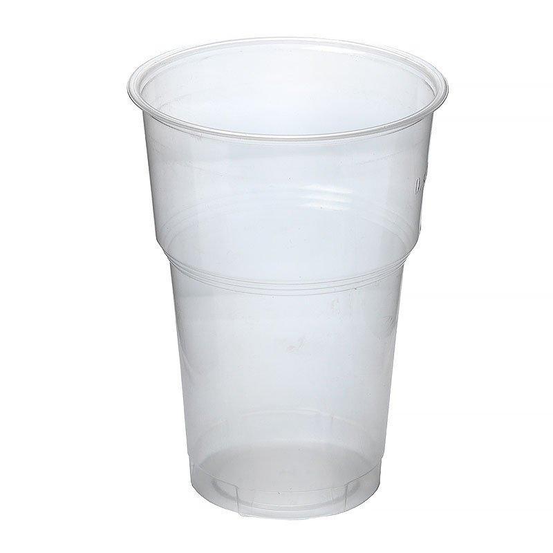 Стакан для холодных напитков, 0.3-0.4л, d 95мм, прозрачный, 44 шт