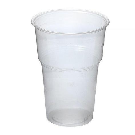 Стакан для холодных напитков, 0.3-0.4л, d 95мм, прозрачный, 44 шт, фото 2
