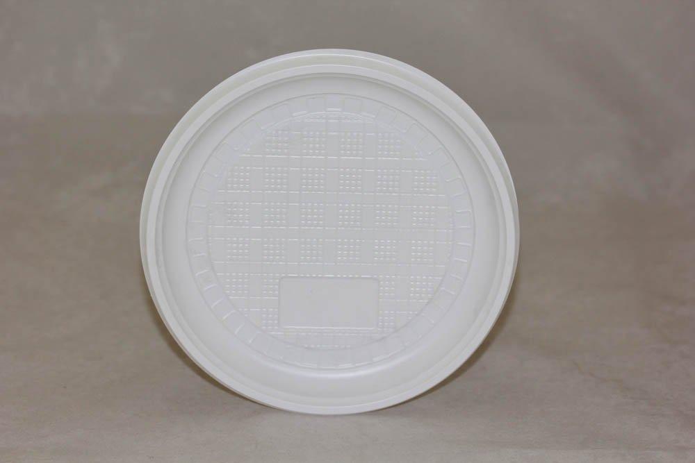 Тарелка десертная, d 165мм, белая, 100 шт