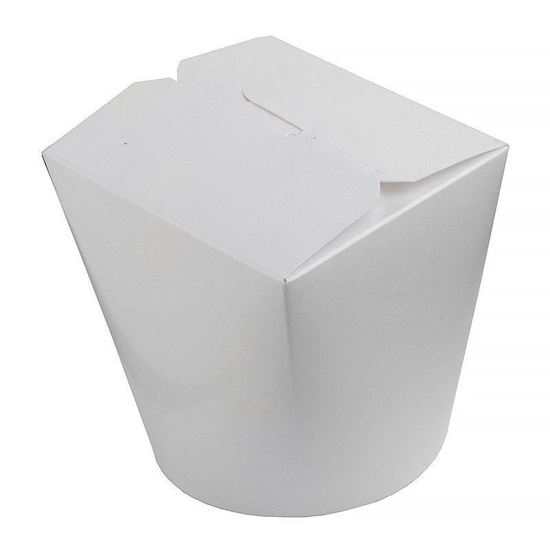 Коробка д/лапши картонный белый, 700 мл, 450 шт
