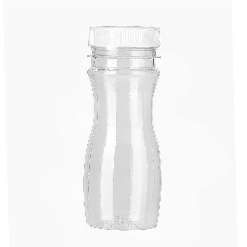 ПЭТ бутылка прозрачн., 0.097 л с крышкой, широкое горло, 400 шт