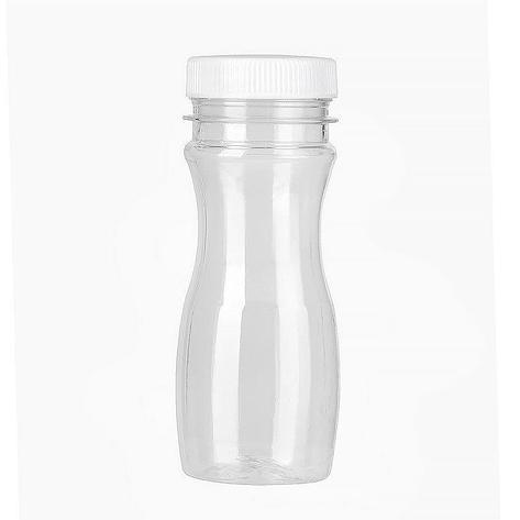 ПЭТ бутылка прозрачн., 0.097 л с крышкой, широкое горло, 400 шт, фото 2