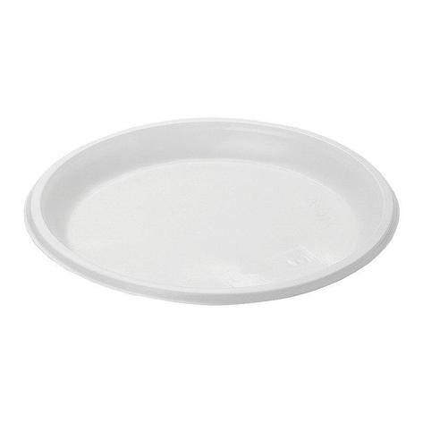 Тарелка, d 205мм, белая, 100 шт, фото 2