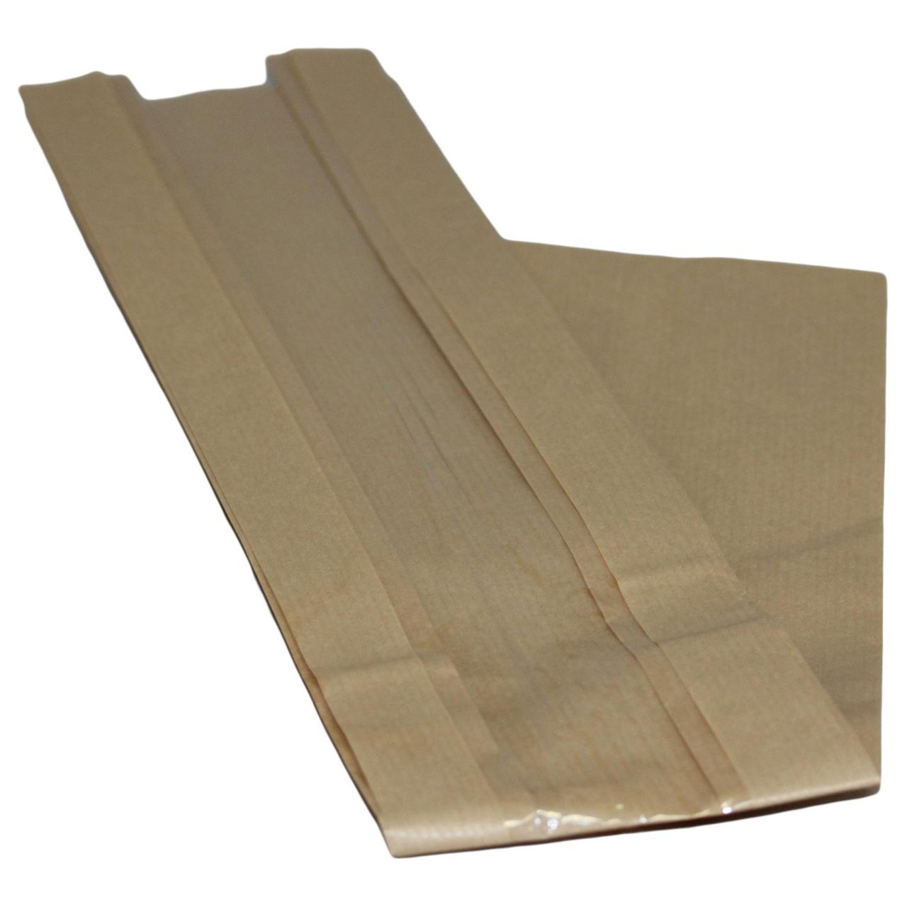 Пакет с окном бежевый без печати (100+50)х590 мм, 2000 шт