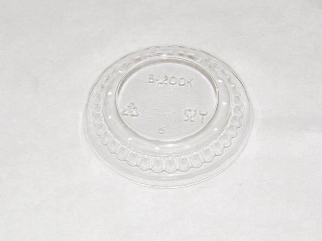 Крышка d-100 мм, прозрачная, ОПС, выпуклая, 1700 шт, фото 2