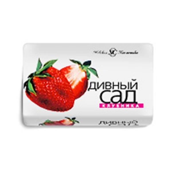 """Мыло туалетное """"Дивный сад"""", Клубника 90г., 6 шт"""