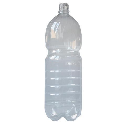 ПЭТ бутылка, прозрачная., 2 л с крышкой, 40 шт, фото 2