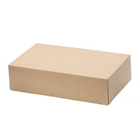 """Коробка """"DoEco"""" 230х140х60мм ECO CAKE 1900, коричн., 300 шт, фото 2"""