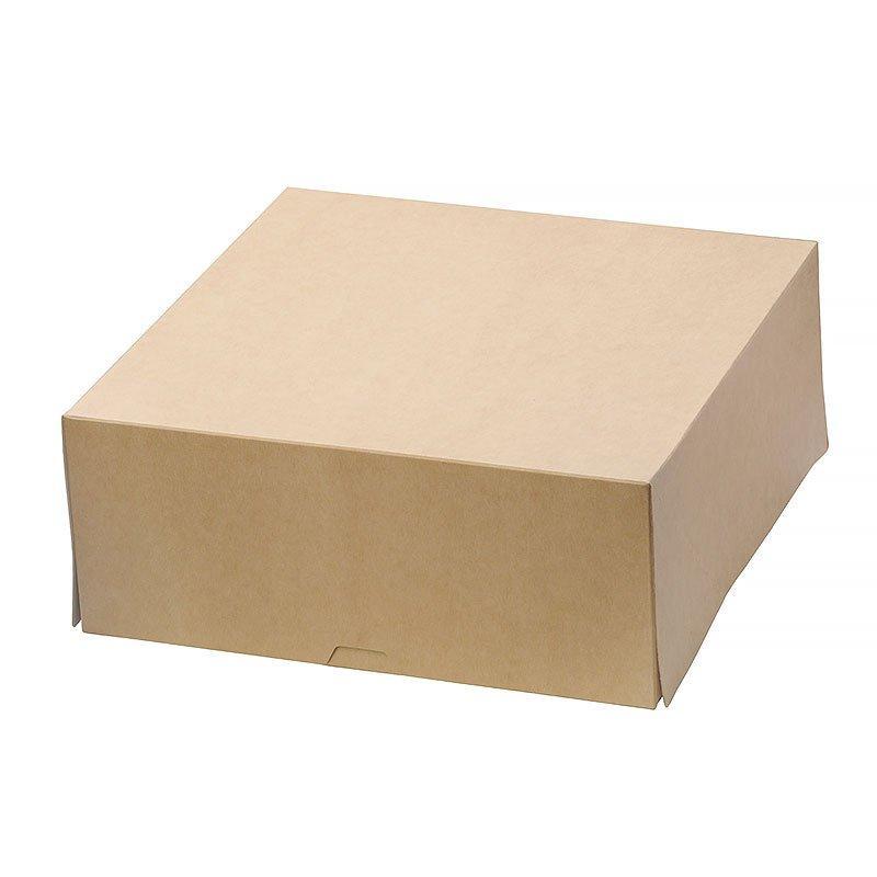 """Коробка """"DoEco"""" 255х255х105мм ECO CAKE 6000, коричн., 75 шт"""