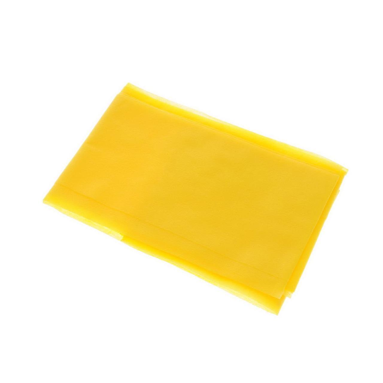 Скатерть 110х140см, жёлт., Спанбонд