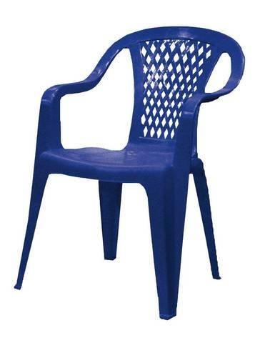 """Кресло """"Селена"""", 46х46х80см, синее, ПП"""