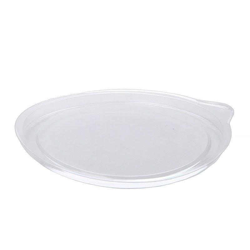 Крышка круглая d-132мм, прозрачн., ОПС, 1000 шт