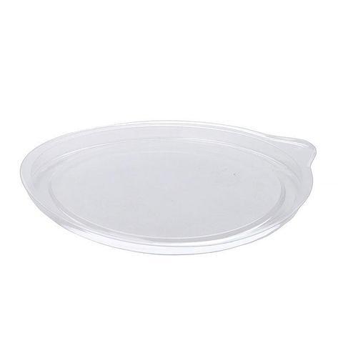 Крышка круглая d-132мм, прозрачн., ОПС, 1000 шт, фото 2