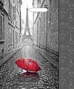 "Пакет (мешок) проруб. ПВД 450х380мм, 60мкм, ""Мой Париж"", 50 шт"