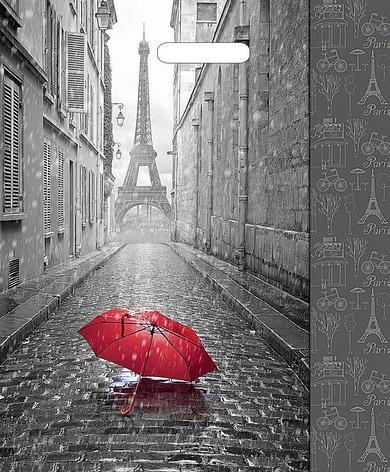 "Пакет (мешок) проруб. ПВД 450х380мм, 60мкм, ""Мой Париж"", 50 шт, фото 2"