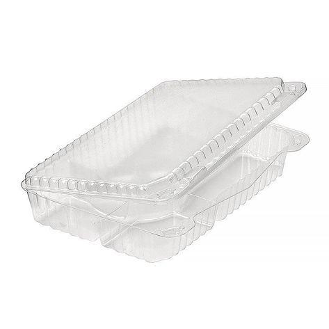 Упаковка для суши (6 ячеек), внеш. 265x193x50мм, прозрачная, ОПС (емкость), 120 шт, фото 2