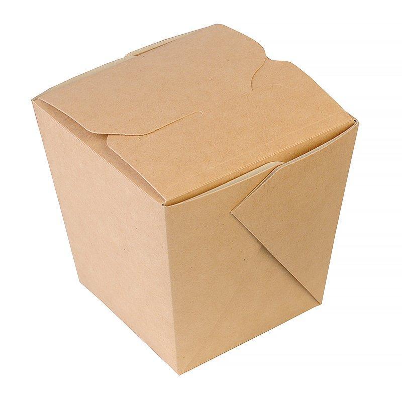 Коробка д/лапши картонная склеенная ECO NOODLES gl 460мл, 70х90х70мм, , 420 шт