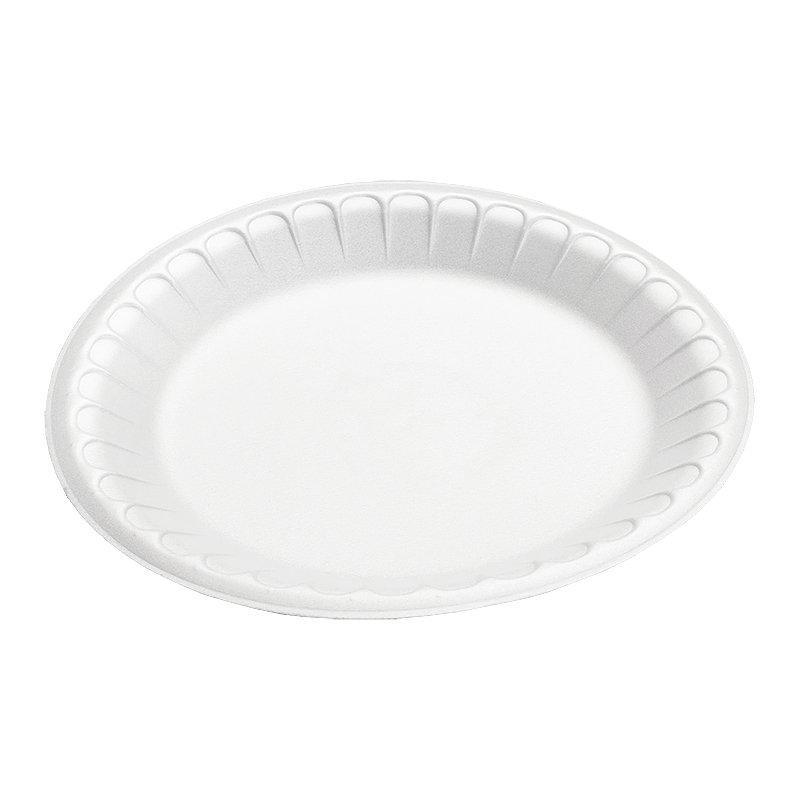 Тарелка d 225мм, белая, 1200 шт