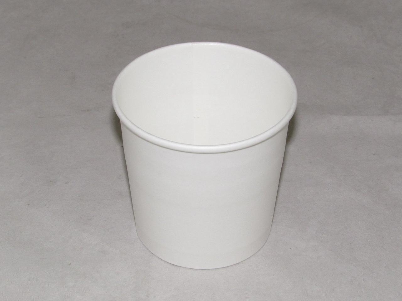 Контейнер с круглым дном 300 мл белый, 500 шт