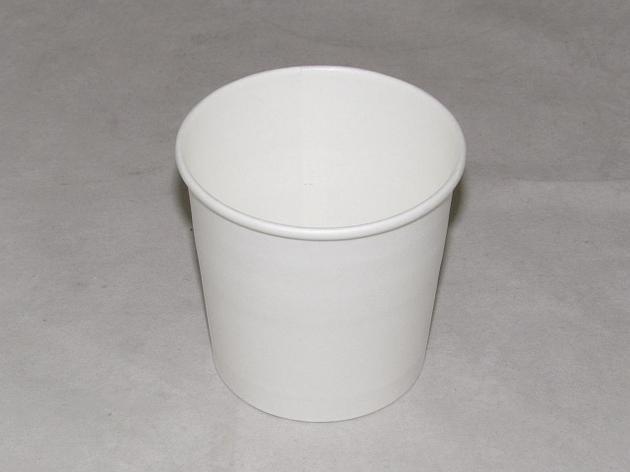 Контейнер с круглым дном 300 мл белый, 500 шт, фото 2