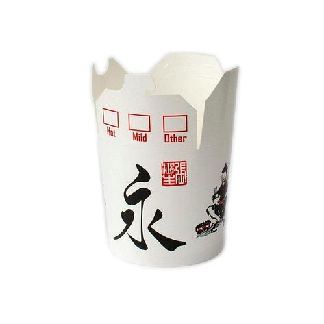 "Коробка для лапши (контейнер) China-Pack 450мл, ""Китай"", 500 шт, фото 2"